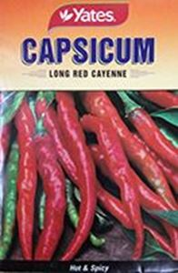 Picture of Capsicum - Long Red Cayenne