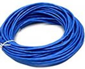 Picture of CAT5 RJ45 Ethernet Network Cable Blue