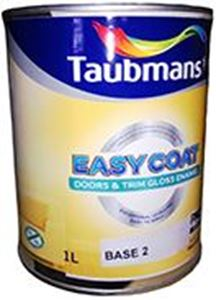 Picture of Taubmans Easy Coat Doors & Trim Gloss Enamel Base 2 1L