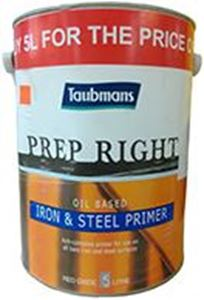 Picture of Taubmans Prep Right Oil Based Iron & Steel Primer 5L